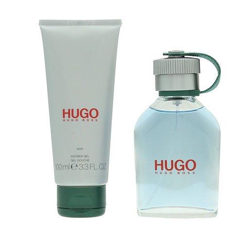 Hugo Boss Hugo Man Kit di Regalo Acqua di Colonia, Gel Doccia - 175 ml