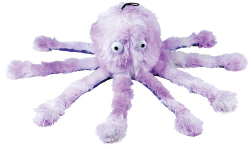 Gor-Pets-Fun-Dog-Chew-Toy-Soft-Cuddly-with-Squeeky-Feet-Mommy-Octopus