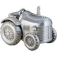 YXXHM- Metal Creativo Tractor de Cuatro Ruedas pequeño Piggy Bank, Moneda de Cambio de