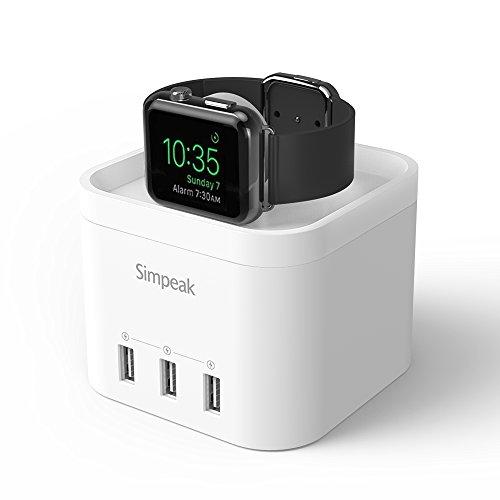 simpeak-apple-watch-soporteapple-watch-charger-dock-3-usb-salidas-base-de-carga-charge-station-stand