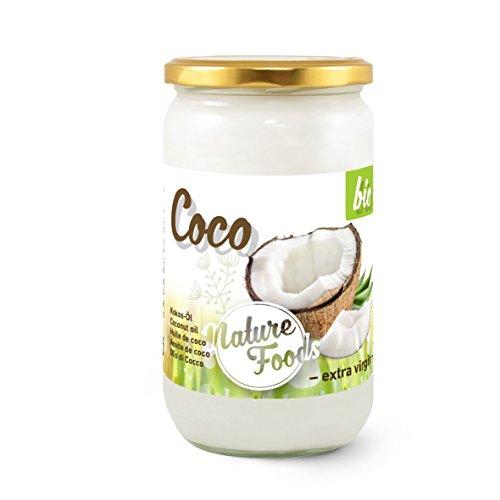 Huile de Noix de Coco Biologique / Organique 1000ml I NATURE FOODS I extra vierge, naturel, des utilisations très variées