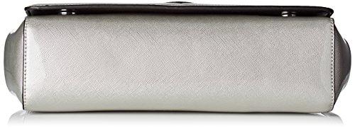 Love Moschino JC4307PP03KP0 Sac À Bandoulière Femme Argent (Silver)