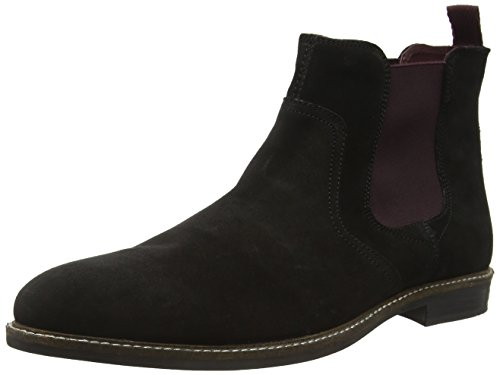 Red Tape Men Newton Chelsea Boots, Black (Black Suede), 7 UK 41...