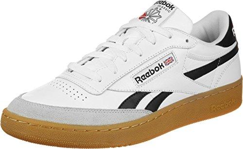 Reebok Revenge plus Gum–Chaussures de sport, Homme white-snowy gry-black