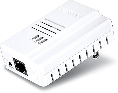 TrendNet TPL-408E Adaptateur CPL 600 Mbps Blanc