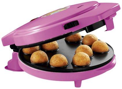 Princess 01.132700.01.001 Kombigerät 3-in-1 Magic Bakery - Popcakes, Donuts und Herzplätzchen, 1000W (Waffel Cup Maker)