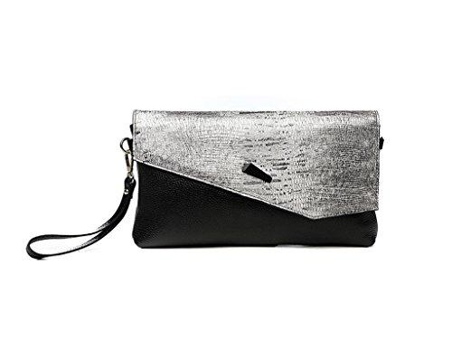 Home Monopoly Sacchetto di mano della temperanza selvaggia della nuova borsa della moda della borsa della borsa della femmina grande sacchetto della frizione del sacchetto di banchetto / con la cinghi Caffè