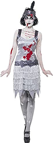SMIFFYS Zombie Flapper Dress Costume Donna Hallowen Fancy Dress