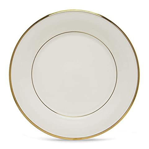 Lenox Eternal White Gold Banded Bone China Pasta Bowl/Rim Soup