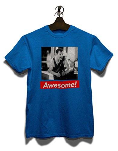Awesome 25 T-Shirt Royal Blau
