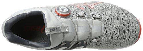 Asics Dynamis, Scarpe da Corsa Uomo Multicolore (Mid Grey/Carbon/White)