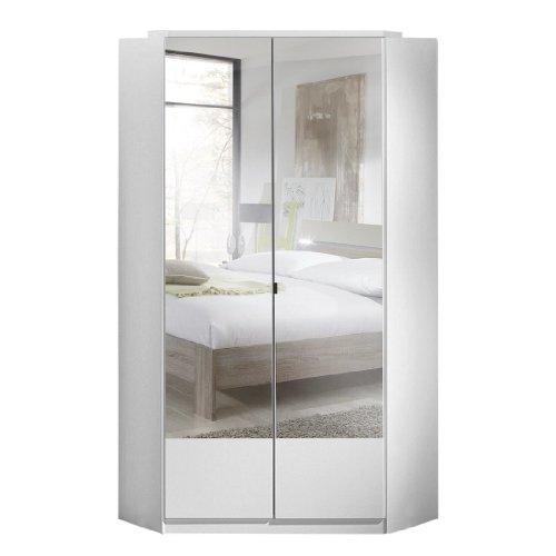eckschrank mit spiegel Wimex Kleiderschrank/ Eckschrank Imago, 2 Türen, (B/H/T) 95 x 198 x 95 cm, Weiß