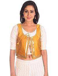 Salwar Studio Yellow Ethnic Jacket - SSJ0004