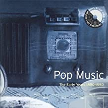 Pop Music:Early Years 1890