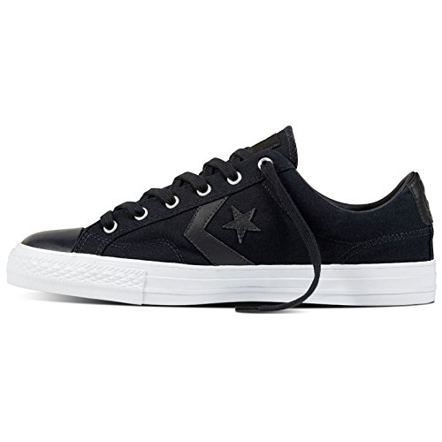 Converse Womens Star Player Ox Canvas Trainers Black