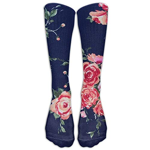 Men&Women Cheetah Purple Leopard Crew Socks Warm Over Boots Stocking Trendy Long Socks Rose Navy Floral Smartwool Striped Hat