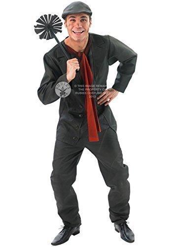 Ufficiale Disney uomo Bert il spazzacamino vittoriano Book Day costume travestimento standard & XL