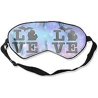 Michigan Love 99% Eyeshade Blinders Sleeping Eye Patch Eye Mask Blindfold For Travel Insomnia Meditation preisvergleich bei billige-tabletten.eu