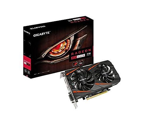 Gigabyte RX460WFOC-2GD Carte graphique AMD Radeon RX460 1212 MHz 2 Go PCI Express x16 3.0