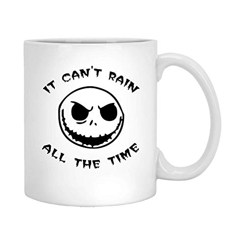 It Can't Rain All The Time Best Halloween, Happy Halloween, Funny Halloween - 11 Oz Coffee Tea Mug By Mirasuper (Happy Y All Halloween,)
