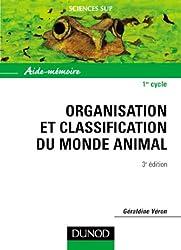 Aide-mémoire d'organisation et classification du monde animal