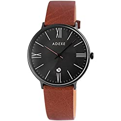 Adexe Men's Watch The Meek Leather 1890b 02