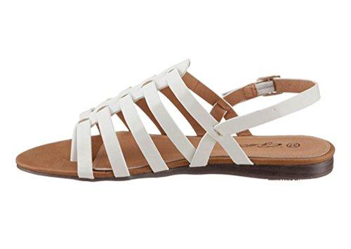 Große Größe: Damen, Sandale, CITY WALK Weiß