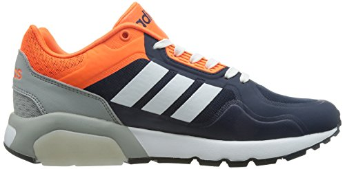 adidas - Run9tis Tm, Scarpe sportive Uomo Blu Marino / Bianco / Arancione (Maruni / Ftwbla / Narsol)