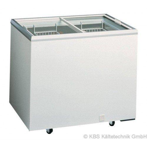 KBS Tiefkühltruhe D 300 - mit Glasschiebedeckel