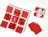 #9: Crafted with Passion red Love Explosion Box for Birthday Anniversary Love