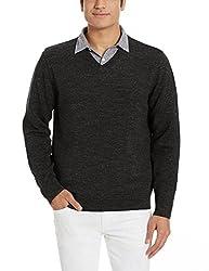 Nautica Mens Cotton Sweater (8907259494937_NTS536360TB_Large_True Black)