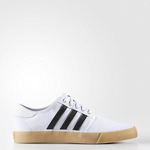 separation shoes 5165b 5c2ab Adidas Seeley Decon, Zapatillas de Skateboarding para Hombre, Blanco  NegbasFtwbla 000,
