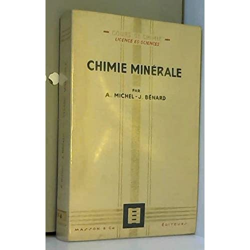 Chimie minerale