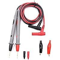 Botterrun Kit mara multímetros de 1000V 20A - cable de prueba con pinzas de contacto