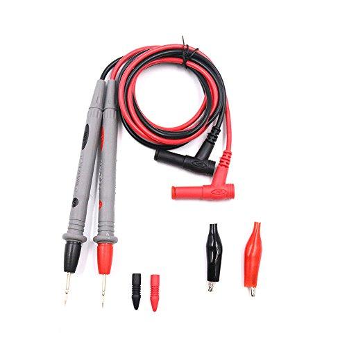 Botterrun 1000V 20A Multimeter Test Lead Kit with Alligator Clips, Meter Leads Probe Wire Set Test
