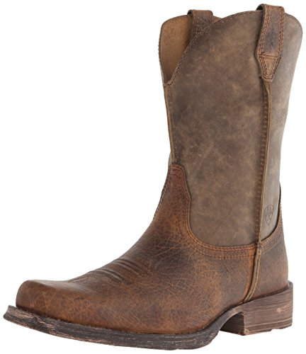 Ariat Men's Rambler Wide Square Toe Western Cowboy Boot -