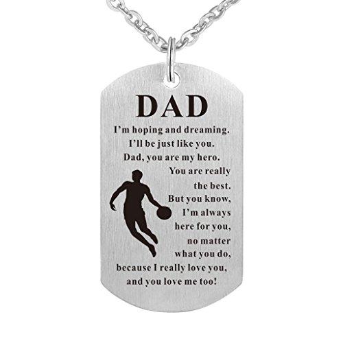 Cradiabh mother' s day dog tag pendant necklace gift for mummy mum love gift targhette gioielli collana militare personalizzato e acciaio inossidabile, cod. family 3412