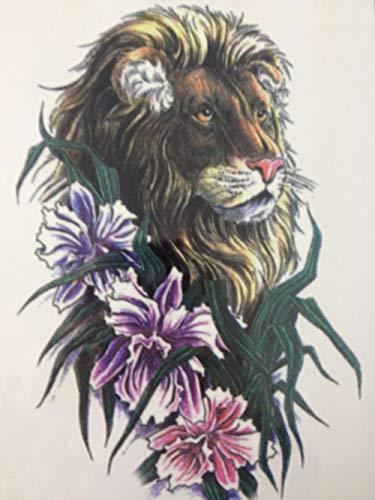 Und Blume Temporäre Tätowierung Aufkleber Temporäre Körperkunst Wasserdicht ()