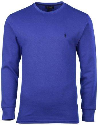 POLO RALPH LAUREN Herren Waffelstrick Rundhals Shirt - mehrfarbig - X-Large