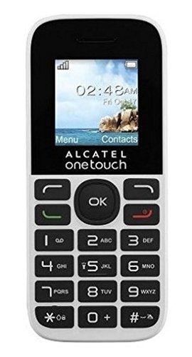 Alcatel 1016D 1 8 63g Negro Color blanco Tel fono b sico - Tel fono m vil Barra SIM doble 4 57 cm 1 8 128 x 160 Pixeles 400 mAh Negro