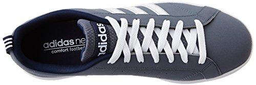 adidas ADVANTAGE VS - Sportschuhe  - Herren, Blau Blau (Onix / Ftwbla / Maruni)
