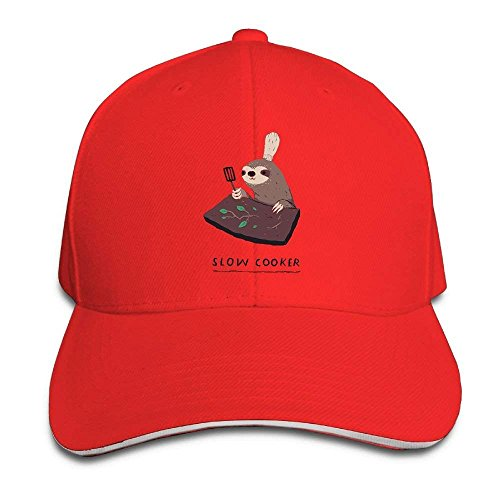 oker Sloth Cap Unisex Low Profile Cotton Hat Baseball Caps Natural ()