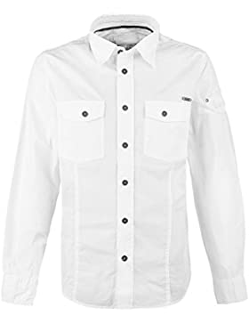 Brandit Camisa Ajustada Camisa Blanco L