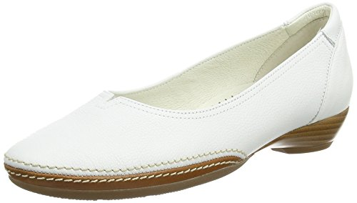 Gabor  Change,  Damen Ballerinas, Weiß (white Leather), 35.5 EU