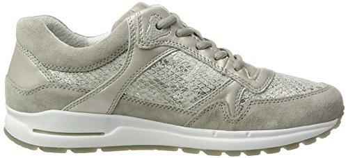 Gabor Shoes Comfort, Scarpe da Ginnastica Basse Donna Grigio (stone/hgrau/puder 39)