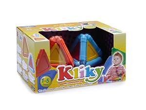Kliky - Juego infantil de construcción de prismas triangulares con piezas imantadas