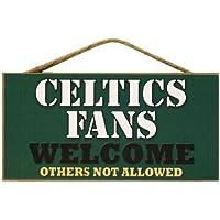 Boston Celtics ventiladores Letrero De PVC - 5