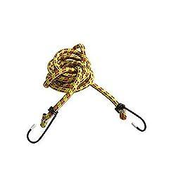 Navisha Cloth Drying Rope (Max stretch- 15 Feet)/Bikes Rope Tie Car Luggage Roof Rack Strap Hooks