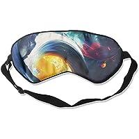 Artistic Watercolor Space Sleep Eyes Masks - Comfortable Sleeping Mask Eye Cover For Travelling Night Noon Nap... preisvergleich bei billige-tabletten.eu