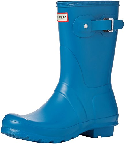 Hunter Wellington Boots, Stivali di Gomma Donna Blu (Blue/rob)